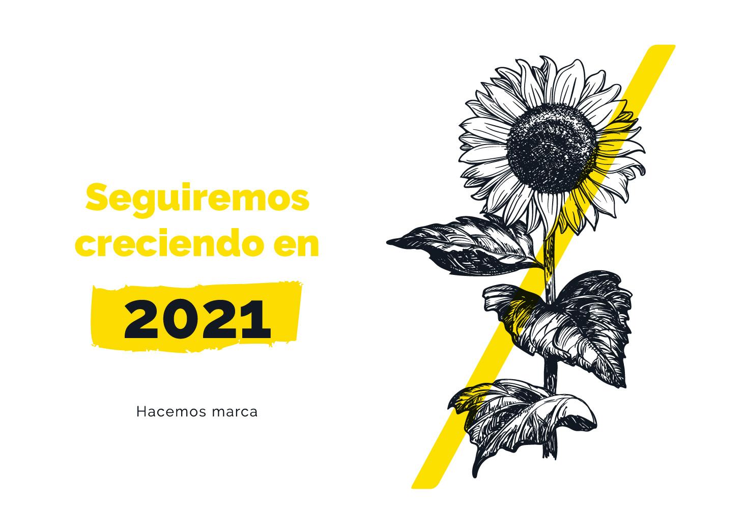 Seguiremos creciendo en 2021